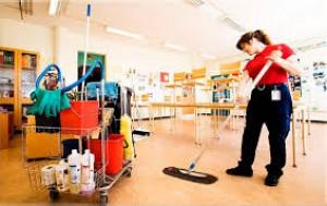 Städning på kontor och i skolor